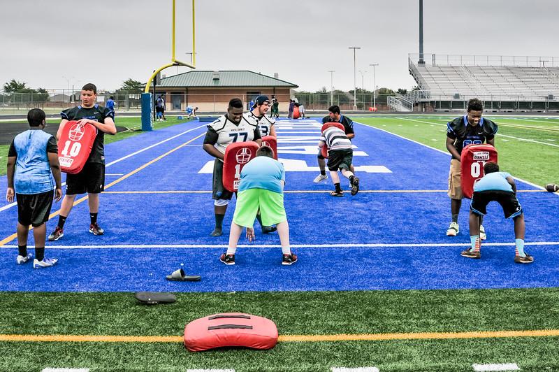Kids Spring Football Camp 05-28-16