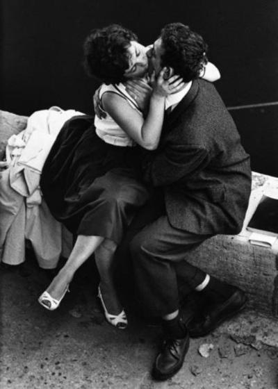 """Jeanloup Sief, """"Quais de Seine Paris,"""" 1959"""