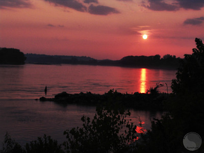 Sunset at Cooper's Landing