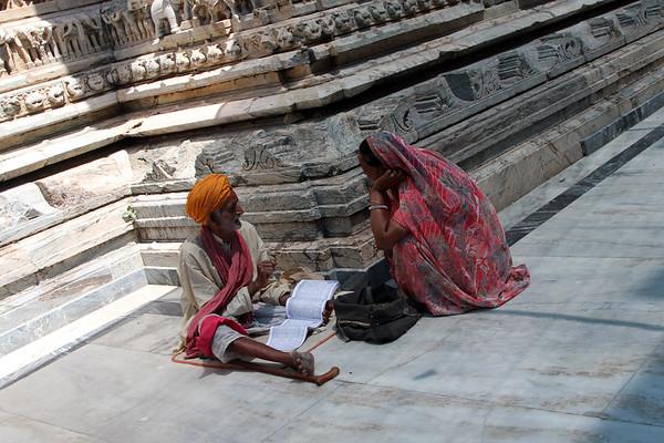 Jagdish Mandir temple in Udaipur, India