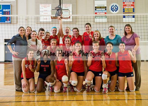 Varsity Volleyball - Battle Creek Lakeview at Mason - Nov 5