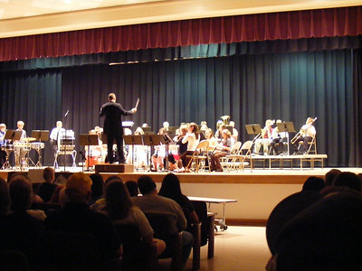 chelsey's spring band concert