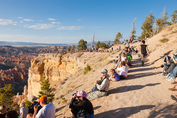 Bryce Canyon during Annular Solar Eclipse May 2012