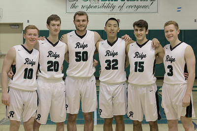 2018-2019  Ridge HS Boys' Basketball