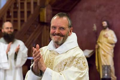Fr Juniper final vows