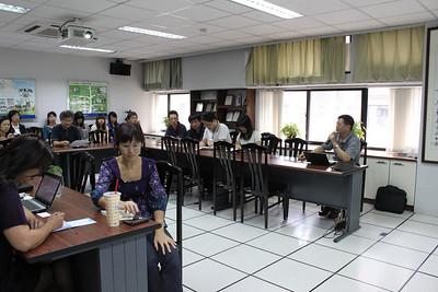 20101006 香港理工大學陳永奇教授來訪