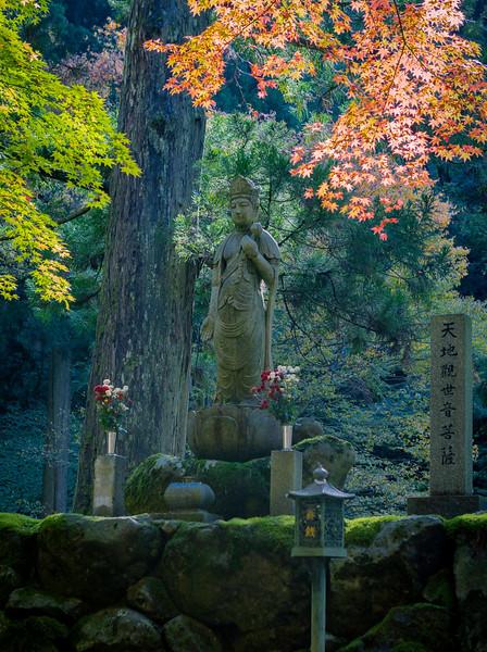 Kanon-sama at the Eiheiji Temple in Fukui.