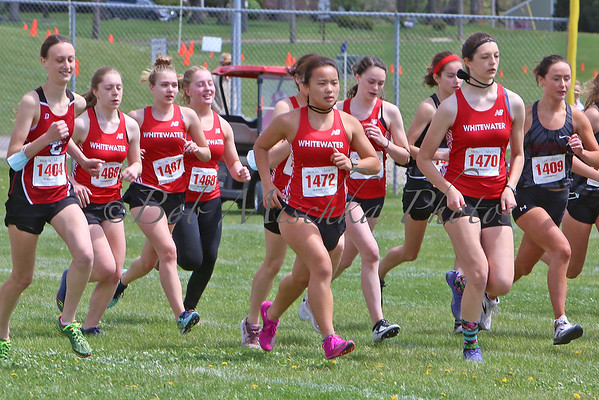 05/01/21  WIAA Sectionals @ WHS - Girls