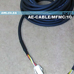 SKU: AE-CABLE/MFMC/10, Panasonic MINAS A4, A4P Series Servo Motor 10 Meters Power Cable