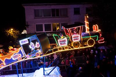Lichtstoet en Sinterklaas 2015