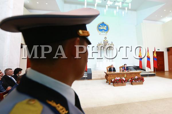 Бүгд Найрамдах Чех Улсын Парламентын Сенатын танхимын Ерөнхийлөгч Монгол Улсад албан ёсны айлчлал хийж байна