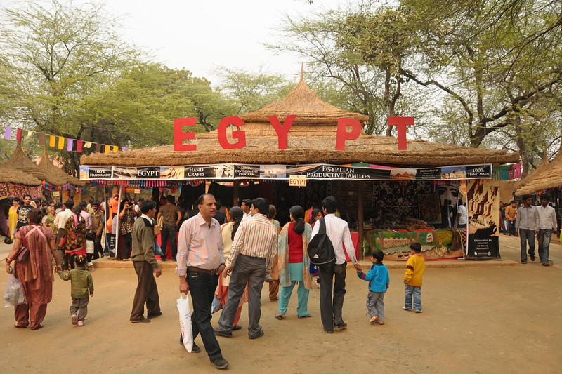 This year Egypt was the focus country and partner at the Suraj Kund Mela 2009 held in Haryana (outskirts of Delhi), North India.   The Suraj Kund Mela is an annual fair held near Delhi. Folk dances, handicrafts and a lot of fun.