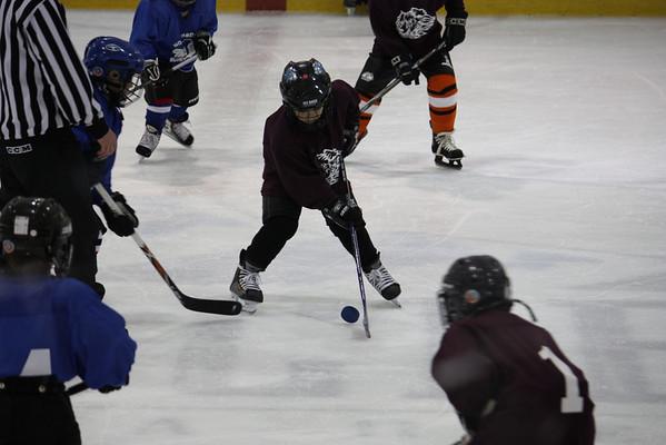 4/18/09 vs Northbrook Bluehawks (@ Glacier)