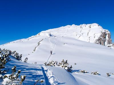 Toreck ski tour, Kleinwalsertal 2015-02-26