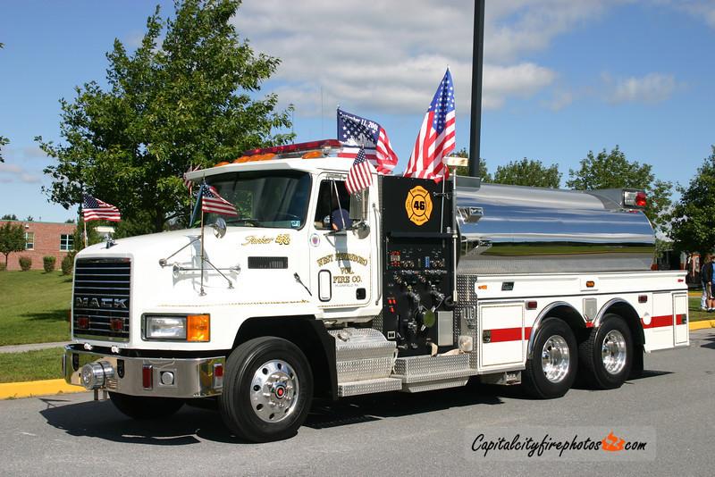 West Pennsboro Tanker 46: 1991 Mack/New Lexington 1000/2500