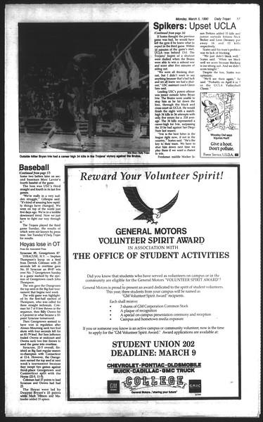 Daily Trojan, Vol. 111, No. 35, March 05, 1990