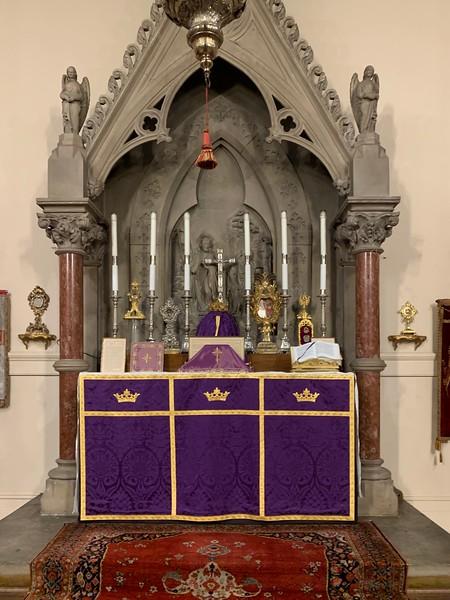 High Altar Lent I