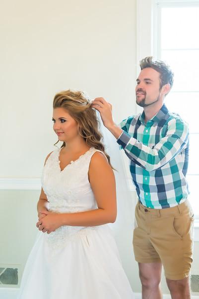 Allison and Jeremy - Pre Ceremony