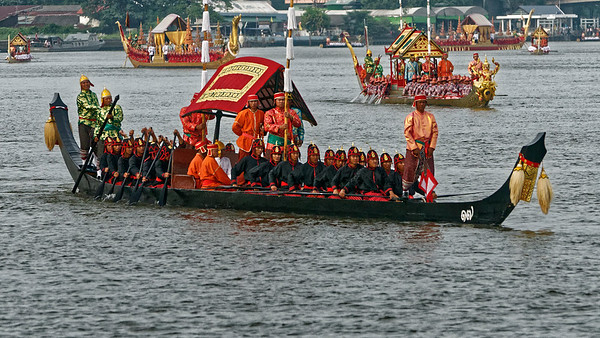 The Royal Barges Procession