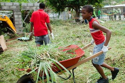DSW St. Lucia - Soufriere High Impact Service Day
