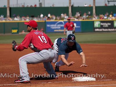 Cincinnati Reds v. Cleveland Indians - 03/18/2010