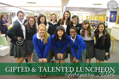 Gifted and Talented Luncheon 2014