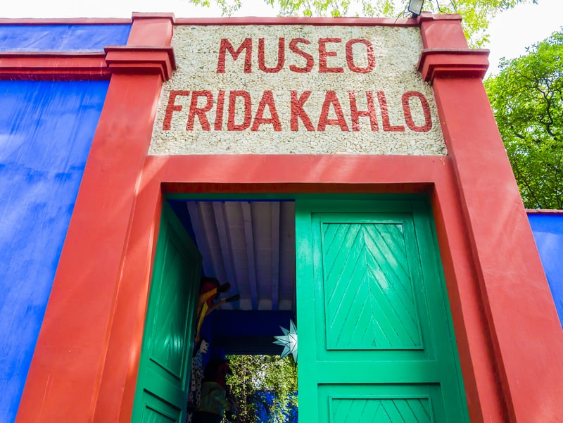 visit the friday kahlo museum - mexico city travel blog