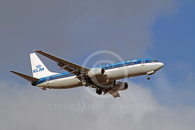 KLM Airline Boeing 737 Airliner Pictures