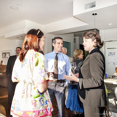 Eric Garcetti Hosting * July 2, 2013 - Dianne Fienstein