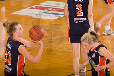 Girls Aussie Travelers vs SCHS