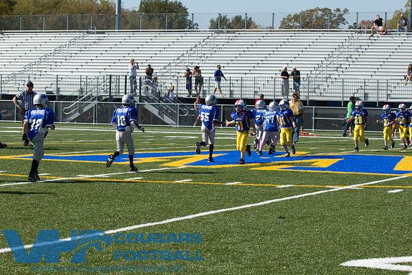 Away Game Vs Warren Township Blue Demons 10/9/2011