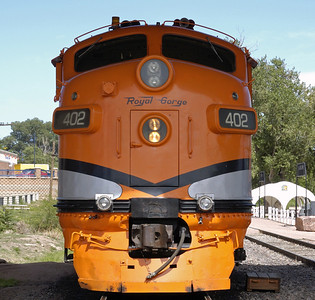 Colorado: Royal Gorge Route Railroad, 2008