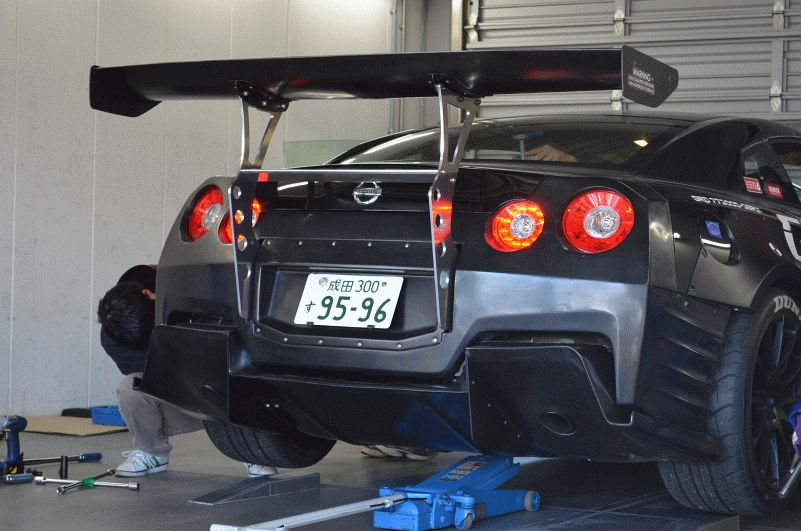 greddy 35rx rear
