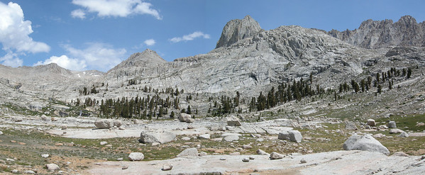 Crabtree Lakes to Miter Basin loop, July 2009