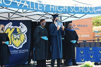 Moreno Valley High School Graduation