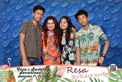 190907 | Resa's Sweet Seventeen Birthday