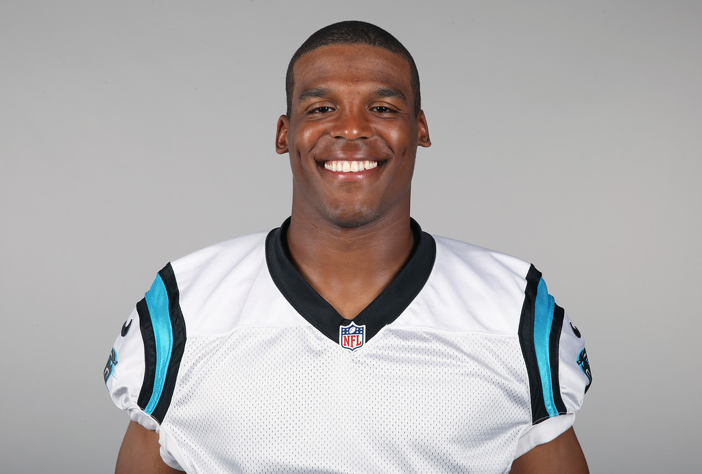 . This is a 2014, file photo showing Cam Newton of the Carolina Panthers NFL football team.  (AP Photo/File)