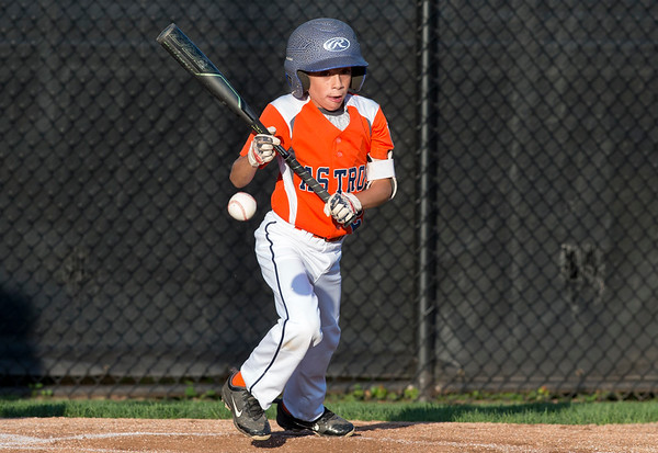 08/26/19 Wesley Bunnell   Staff The McCabe-Waters Astros defeated the Forrestville Dodgers 3-0 at Breen Field on Monday night in the city series to force a winner takes all on Wednesday. Landon Levesque (9) with a bunt.