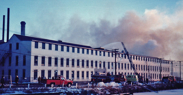 Lawrence, MA 1/1986 - Mill Fire