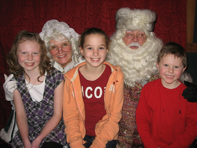2009 Pictures with Santa