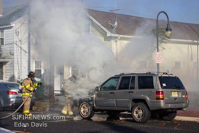 10-14-2014, Vehicle, Millville, Cumberland County, 8 E. Vine St.
