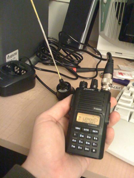 Radio setup for LeMons