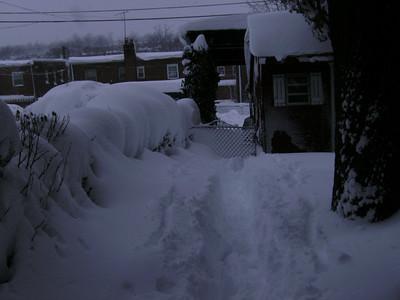 Big Snow Storm Day 2, February 7, 2010