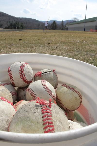WUHS Baseball Practice