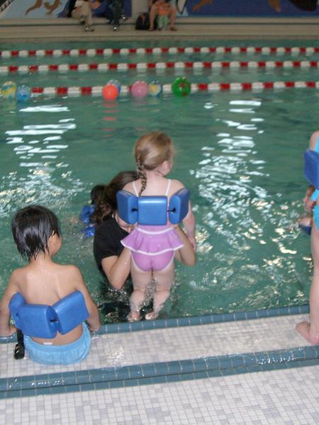 Swim lessons - week 4