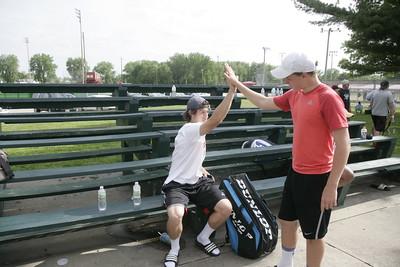 OHS Boys Tennis Ottumwa Invitational 05092015