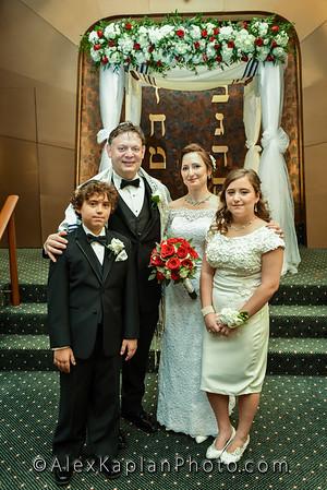 Wedding at Temple Beth Sholom in Fair Lawn, NJ 07410