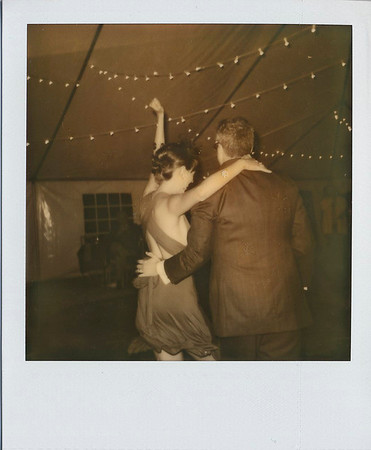 a&c wedding poloroids