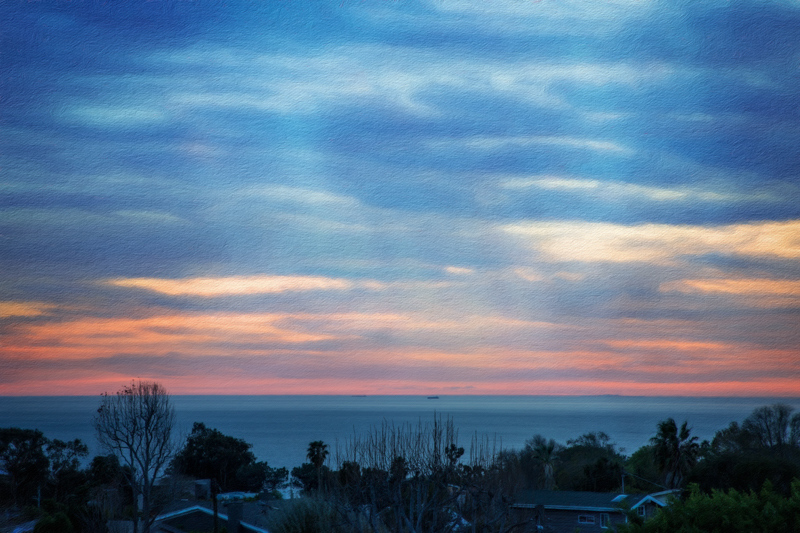 January 29 - Late January sunset over the Pacific Ocean.jpg