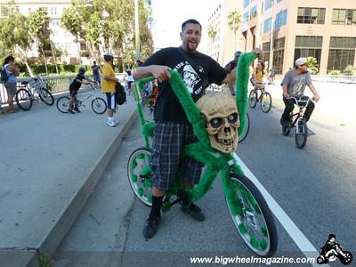The Skull Bike - CicLAvia 2011 - Los Angeles, CA - October 9, 2011